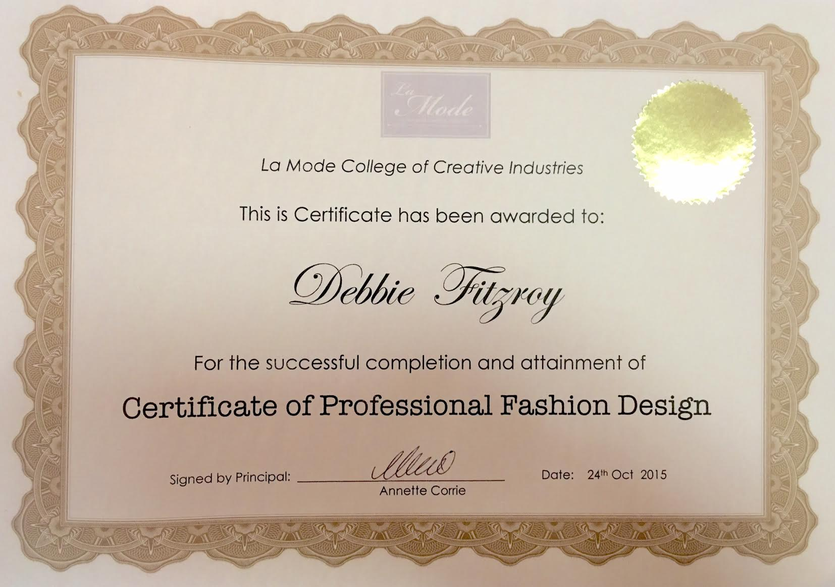 Fashion Design Course Online La Mode College