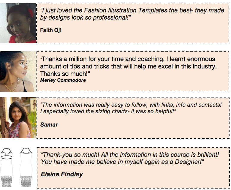Fashion Mentoring Program testimonials La Mode College