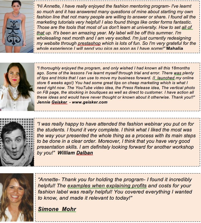 fashion design course online testimonials1