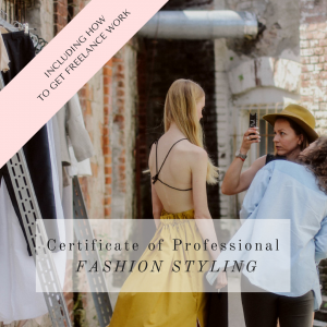 Certificate of Professional Fashion Styling Course Become a Fashion Stylist by La Mode College
