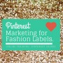 pinterest training course for fashion business