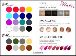Colour analysis Fashion Stylist