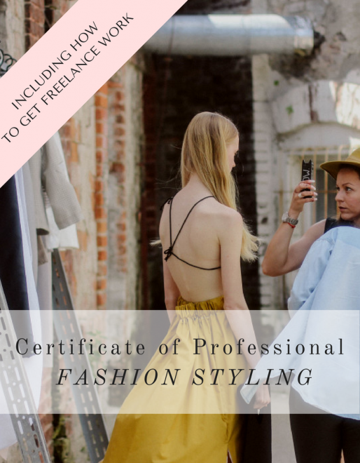 Certificate of Professional Fashion Styling Course Online