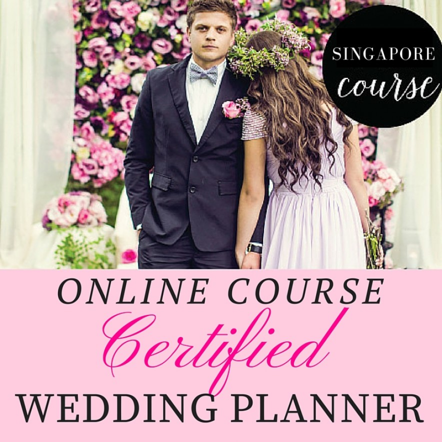 Certified Wedding Planner Course Singapore