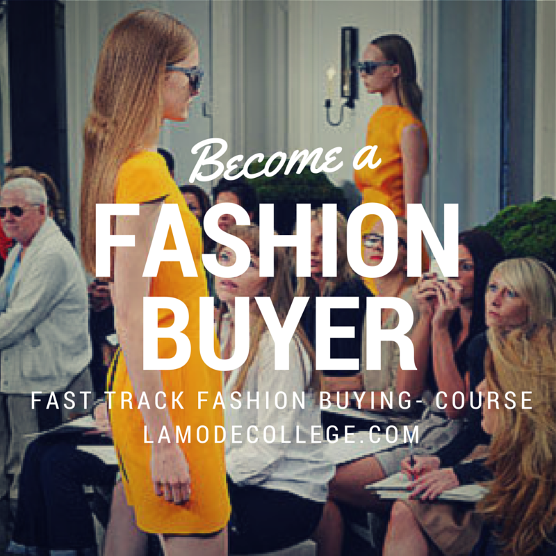 Fashion buyer course for fashion buying job