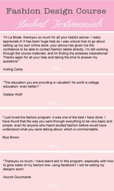 la mode college, fashion design courses, fashion courses ...